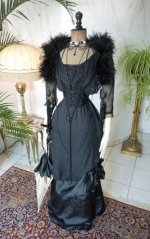 2 antique evening gown 1909