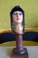 2 antique flapper headpice 1920