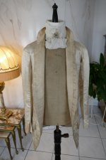 39 antique rococo wedding coat 1740