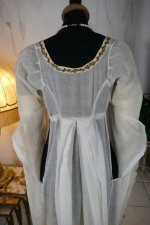 40 antique empire dress 1802