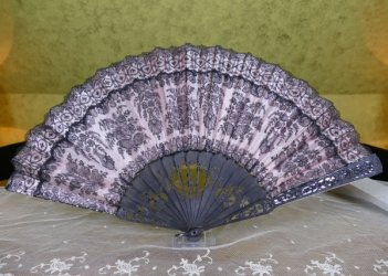antique fan 1888