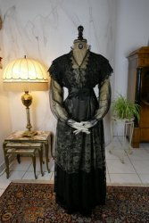 antique evening dress 1912