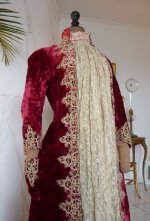 10 antique dress gown