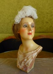 antique wax mannequin 1920