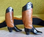8 antique ridding boots 1890