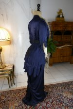 26 antique hobble skirt Dress 1913