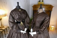 1 antique afternoon dress 1840