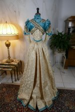 26 antique evening gown 1895