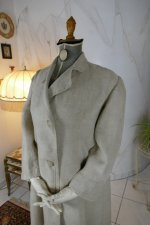 7 antique duster coat 1908