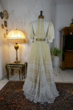 24 antique tea gown 1903