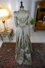 43 antique dress Bondeaux sisters 1889