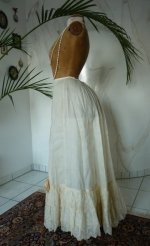 7 antique petticoat