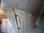 4 antique waist corset 1890