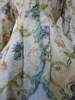 7 antique silk jacket 1750