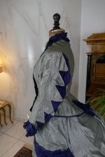 16 antique bustle dress 1884