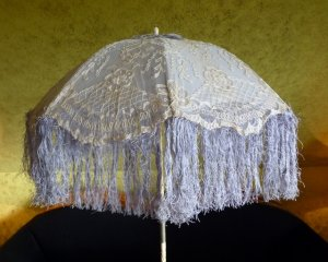 antique victorian parasol 1885