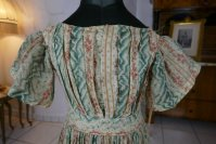 1 antique children dress 1856