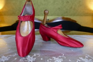 antique evening shoes 1880