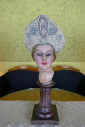antique headpiece 1920
