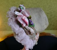 10 antique bonnet 1860