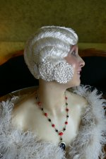 14 antique hair cloche 1920