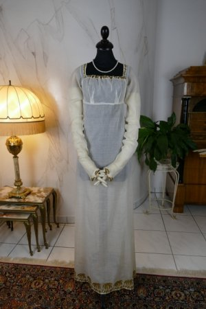 antique empire dress 1802