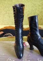 11 antique button boots