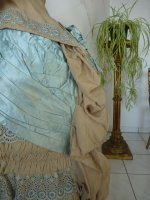 33 antique bustle dress 1884