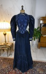 2 antique walking dress 1899
