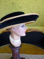 8 antique hat 1912 Cameron Titanic