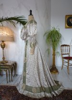 15 antique recpetion gown 1904
