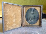 2 antique ambrotype 1860