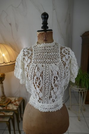 antique lace blouse 1916