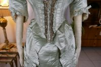 5 antique evening gown 1889