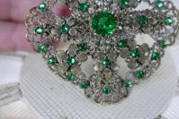 3 antique brooch 1920