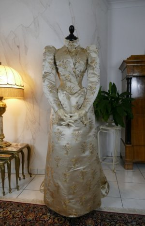 antique dress Maison Lipmann 1896