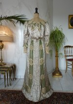 8 antique recpetion gown 1904