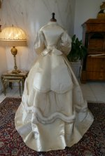 22 antique wedding dress 1876