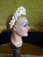 12 antique wax tiara 1912