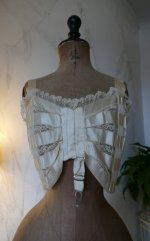 3 antique bust bodice 1908