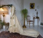 20 antique wedding Gown 1895