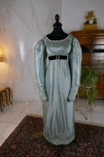 2 antique regency dress 1818
