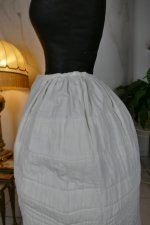 9 antique Biedermeier Petticoat 1840