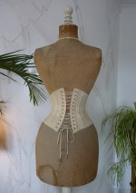14 antique underbust corset 1900