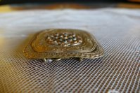 3 antique belt buckle 1901