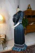 22 antique society dress Kayser 1908