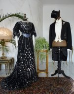 2 antique ball dresses