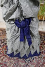 21 antique bustle dress 1884