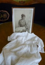 24 antique christening gown