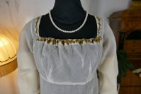 1 antique empire dress 1802